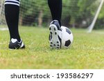soccer player on soccer field | Shutterstock . vector #193586297
