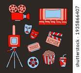 set of vector elements on the...   Shutterstock .eps vector #1935866407