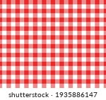 red and white gingham seamless... | Shutterstock .eps vector #1935886147