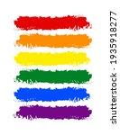 lgbt pride flag or rainbow...   Shutterstock .eps vector #1935918277