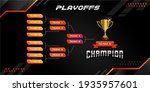 modern sport game tournament... | Shutterstock .eps vector #1935957601