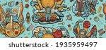 exploration of mars planet.... | Shutterstock .eps vector #1935959497