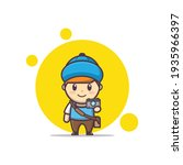 Vector Character Illustration...