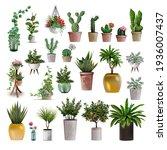 big collection of vector... | Shutterstock .eps vector #1936007437