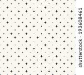 vector seamless pattern. modern ... | Shutterstock .eps vector #193608461