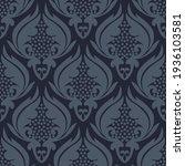 damask seamless vector pattern. ...   Shutterstock .eps vector #1936103581