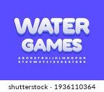 vector bright emblem water... | Shutterstock .eps vector #1936110364