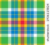 plaid pattern seamless. check... | Shutterstock .eps vector #1936115824