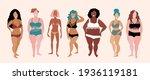 attractive women posing....   Shutterstock .eps vector #1936119181