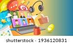 3d conceptual illustration of... | Shutterstock . vector #1936120831
