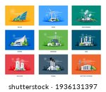 electricity generation source... | Shutterstock .eps vector #1936131397