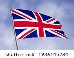 United Kingdom Flag Isolated On ...