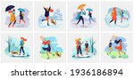 people character in various... | Shutterstock .eps vector #1936186894