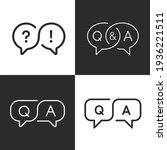 Faq  Question And Answer Icons...