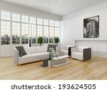 nice cottage pane interior with ... | Shutterstock . vector #193624505
