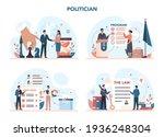 politician concept set. idea of ...   Shutterstock .eps vector #1936248304