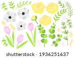 vector flat illustration spring ... | Shutterstock .eps vector #1936251637