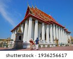 Couple Visiting Wat Pho Or...