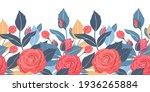 Art Floral Vector Seamless...