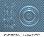 ripple splash of water waves on ... | Shutterstock .eps vector #1936269994