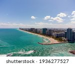 Aerial Photo Miami Inlet Bal...