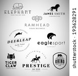 animal emblems collection for... | Shutterstock .eps vector #193628291