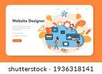 web design web banner or...