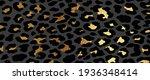 luxury gold leopard skin... | Shutterstock .eps vector #1936348414