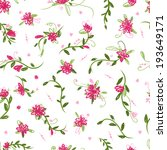 floral seamless pattern for... | Shutterstock .eps vector #193649171