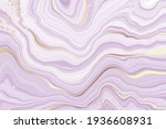 abstract dusty violet liquid...   Shutterstock .eps vector #1936608931