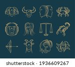zodiac astrology mythology...   Shutterstock .eps vector #1936609267
