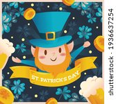 saint patrick's day  or the... | Shutterstock .eps vector #1936637254