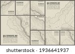 geographic mountain topography... | Shutterstock .eps vector #1936641937