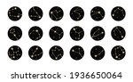 vector set of highlights with... | Shutterstock .eps vector #1936650064