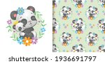 the seamless pattern of the two ...   Shutterstock .eps vector #1936691797