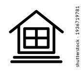 lodging icon or logo isolated...   Shutterstock .eps vector #1936719781