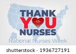 national nurses week begins... | Shutterstock .eps vector #1936727191