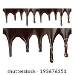 Melted Chocolate Seamless...