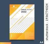 brochure layout design.... | Shutterstock .eps vector #1936774024