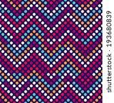 seamless vector polka dot...   Shutterstock .eps vector #193680839