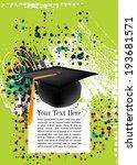 graduation cap | Shutterstock .eps vector #193681571