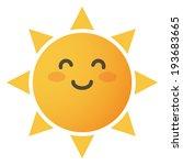 sun icon | Shutterstock .eps vector #193683665