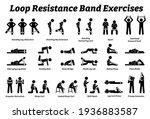 loop resistance mini band...   Shutterstock .eps vector #1936883587