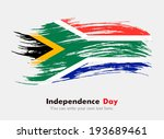 flag of south africa. flag in... | Shutterstock .eps vector #193689461