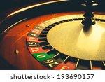 Old Roulette Wheel  Casino...