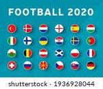 european football 2020... | Shutterstock .eps vector #1936928044