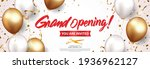 grand opening card design with...   Shutterstock .eps vector #1936962127