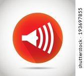 megaphone icon. | Shutterstock .eps vector #193697855