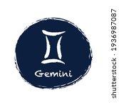 astrological zodiac symbol...   Shutterstock .eps vector #1936987087