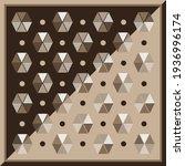 geometric silk scarf pattern... | Shutterstock .eps vector #1936996174